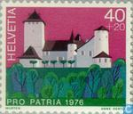 Postage Stamps - Switzerland [CHE] - Castles