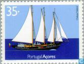 Postage Stamps - Azores - transportation