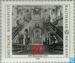 Postzegels - Duitsland, Bondsrepubliek [DEU] - Balthazar Neumann 300 jaar