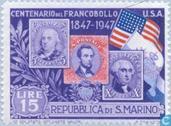 Timbres-poste - Saint-Marin - Jubilé USA Stamp