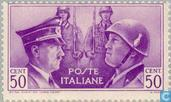 Timbres-poste - Italie [ITA] - Italien-allemand Frères d'armes