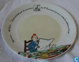 Céramique - Tintin - Bord : De 7 Kristallen Bollen