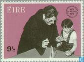Postzegels - Ierland - Johanniter-orde 100 jaar