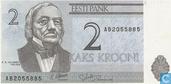 Banknoten  - Eesti Pank - Estland 2 Krooni