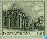 Postzegels - Vaticaanstad - Gebouwen