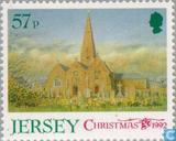 Postzegels - Jersey - Kerken