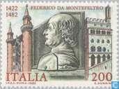 Postzegels - Italië [ITA] - Federico da Montefeltro