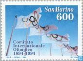 Postage Stamps - San Marino - 100 years of International Olympic Committee