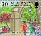 Postage Stamps - Alderney - Historical development