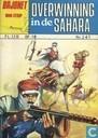 Strips - Bajonet - Overwinning in de Sahara