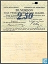 Billets de banque - Zilverbon Nederland - 2.5 1914 florins néerlandais