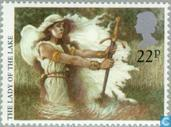Timbres-poste - Grande-Bretagne [GBR] - Légendes arthuriennes