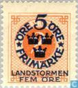 Timbres-poste - Suède [SWE] - Landstorm