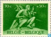 Postage Stamps - Belgium [BEL] - For prisoner of war, resistance fighters and deportees