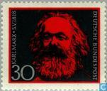 Postage Stamps - Germany, Federal Republic [DEU] - Karl Marx (1818-1883)