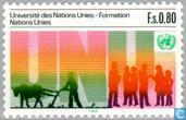 Timbres-poste - Nations unies - Genève - Université UNO