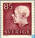 Timbres-poste - Suède [SWE] - Le roi Gustaf VI Adolf-type III