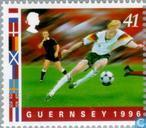 Timbres-poste - Guernesey - Championnat de soccer