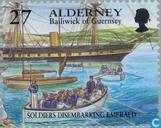 Briefmarken - Alderney - Historische Entwicklung