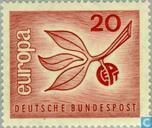 Briefmarken - Deutschland, Bundesrepublik [DEU] - Europa – Zweig und Frucht