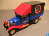 Model cars - Matchbox - Ford  AA Truck   coca cola