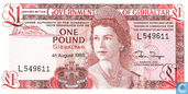 Banknoten  - Government of Gibraltar - Gibraltar 1 Pfund