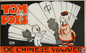Comic Books - Bumble and Tom Puss - Tom Poes en de Chinese waaier