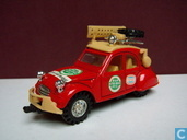 Modellautos - MC Toy - Citroën 2CV Rally