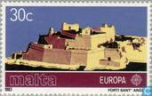Briefmarken - Malta - Europa – Der menschliche Geist