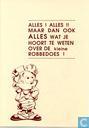 Comic Books - Kleine Robbe, De - 'Alles! Alles!! Maar dan ook alles wat je hoort te weten over de kleine Robbedoes.