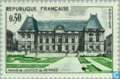 Postage Stamps - France [FRA] - Rennes- Palace of Justice