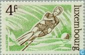 Postage Stamps - Luxembourg - Sports