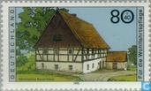 Postzegels - Duitsland, Bondsrepubliek [DEU] - Boerderijen