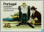 Postage Stamps - Madeira - Vehicles