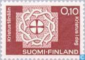 Postage Stamps - Finland - World Federation Lutheran Church