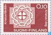 Postzegels - Finland - Wereldfederatie Lutheriaanse Kerk