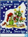 Postage Stamps - Sweden [SWE] - Christmas Scenes