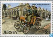 Postage Stamps - Jersey - classic cars