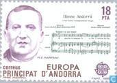 Postage Stamps - Andorra - Spanish - Europe – Music Year