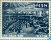 Postzegels - Ierland - Nationale parlement 1919-1969