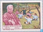 Postzegels - Italië [ITA] - Maria Montessori