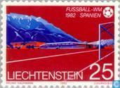 Postzegels - Liechtenstein - WK Voetbal