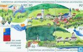Postage Stamps - Liechtenstein - Liechtensteiner Unterland