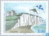Postage Stamps - France [FRA] - Coast at Dieppe