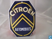 Emaille borden - Logo : Citroen - Emaille Bord : Citroen