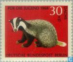 Postzegels - Duitsland, Bondsrepubliek [DEU] - Dieren