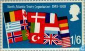 Postage Stamps - Great Britain [GBR] - NATO 20 years