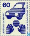 Timbres-poste - Berlin - Prévention des accidents