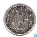 Munten - Peru - Peru 1/5 sol 1863
