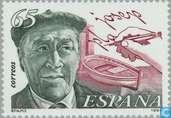 Postzegels - Spanje [ESP] - Josep Pia